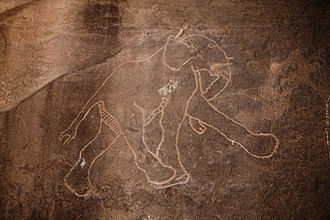 Acacus Mountains - Image: Libya 5041 Petroglyphs Tadrart Acacus Luca Galuzzi 2007