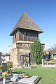 Licoměřice - Kostel svaté Kateřiny zvonice1.JPG