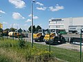 Liebherr loaders and building, 2018 Győr.jpg