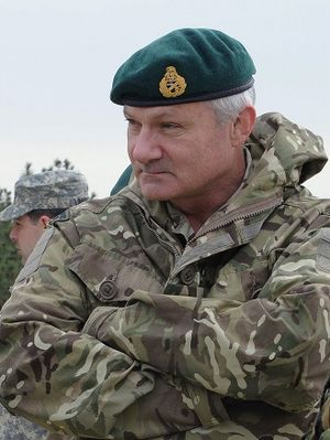 Vice-Chief of the Defence Staff (United Kingdom) - Image: Lieutenant General Gordon Messenger RM