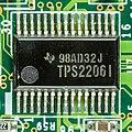 Lifetec LT9303 - Motherboard - Texas Instruments TPS2206I-1122.jpg