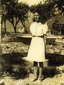 Liliana Segre a 13 anni nel 1943, pochi mesi prima dell'arresto