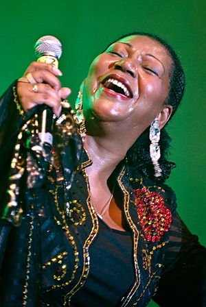 Liz Mitchell - Liz Mitchell performing in Kiel, Germany, in 2009