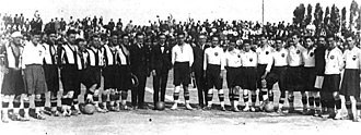 Valencia CF - Valencia CF vs Levante FC at the inauguration of the Mestalla in 1923