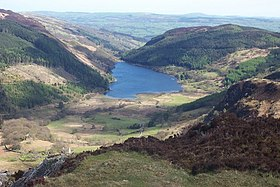 Llyn Crafnant from the summit of Crimpiau - geograph.org.uk - 223759.jpg