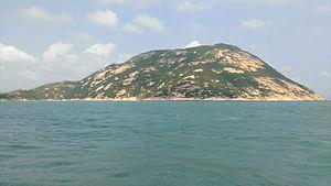 Po Toi Islands - The southwest-facing slope of Lo Chau
