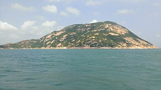 Po Toi Islands - The southwest-facing slope of Lo Chau