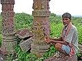 Local inhabitants of Timangarh Fort.jpg