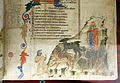 Località sconosciuta, commedia di dante, canto I, XIV secolo, pluteo 40.7, 05.JPG