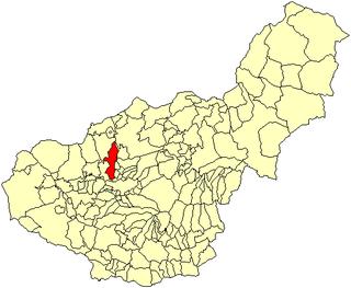 Albolote City in Granada, Spain