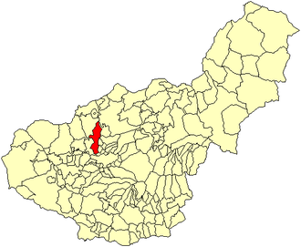 Albolote - Image: Location Albolote