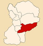Location of the district Caraz in Huaylas.png