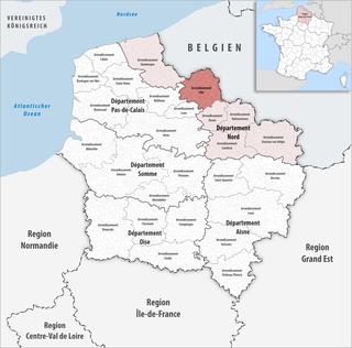 Arrondissement of Lille Arrondissement in Hauts-de-France, France