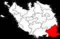Locator map of the canton de Fontenay-le-Comte (in Vendée).png