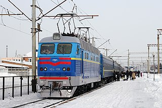 Electric locomotive locomotive powered by electricity