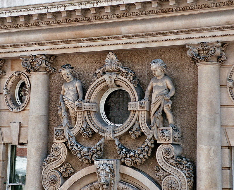 London - Victorian Building in Westminster - Detail.jpg