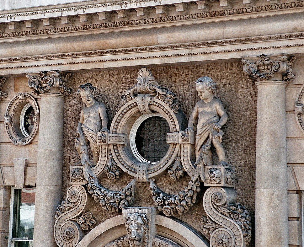 London - Victorian Building in Westminster - Detail