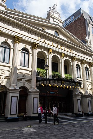 Royal Variety Performance - The London Palladium, where the performance has most often been held.
