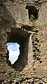 Longtown Castle keep interior.jpg