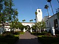 Los Angeles, CA, View NW, Union Station Central Courtyard, 2012 - panoramio.jpg