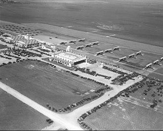 History of Los Angeles International Airport - Image: Los Angeles Airport, 1931