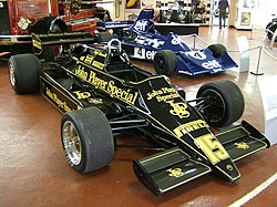 Lotus 91 w muzeum Donington Grand Prix Collection