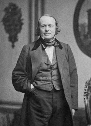 Louis Agassiz - Portrait photograph by John Adams Whipple, c. 1865