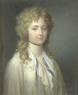 Louise Adélaïde de Bourbon (1757–1824) Abbess of Remiremont
