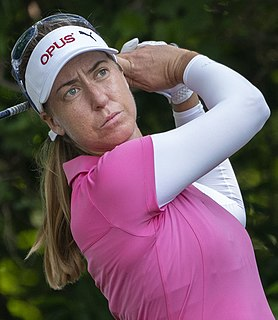Louise Stahle professional golfer