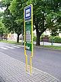 Louny, Fügnerova, zastávka Fügnerova (01).jpg