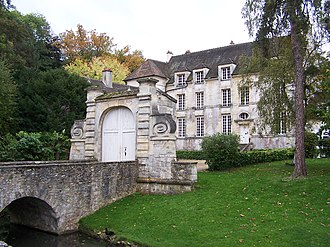 Louveciennes - Image: Louveciennes Château du Pont