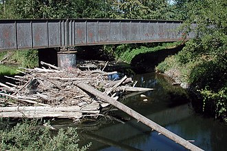 Abiqua Creek - Abiqua Creek from Oregon Route 214