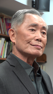 L'actor estatounitense George Takei, en una imachen de 2015