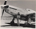 Lt James L Brooks with P51 1944.jpg