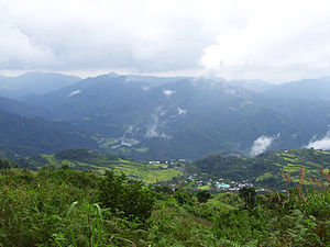 Kalinga (province) - The mountains of Kalinga in Lubuagan