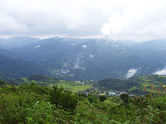 Kalinga (province) - The mountains of Kalinga in Lubuagan