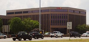 Luby's - Luby's headquarters in Near Northwest and in Houston, 2011.