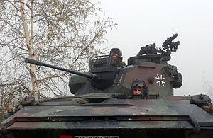 Rheinmetall Rh 202 - Image: Luchs turret