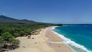 Makena State Park park in the United States of America