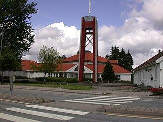 Lund (Kristiansand) - Lund church