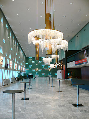 Grand Théâtre de Luxembourg - The upper foyer area