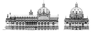 Lviv Theatre of Opera and Ballet - Gorgolewski's plan for the Lviv Opera.