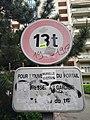Lyon 3e - Panneau interdit + de 13 t cours Gambetta (mai 2019).jpg