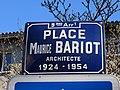 Lyon 9e - Place Maurice Bariod - Plaque (fév 2019).jpg