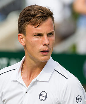 Márton Fucsovics - Fucsovics at the 2015 Wimbledon Qualifying