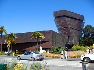 Fine Arts Museums of San Francisco - The de Young Museum, part of the Fine Arts Museums of San Francisco