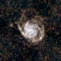 M101 Herschel SPIRE R500µmG350µmB250µm-log.png