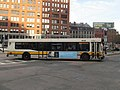 MBTA route 434 bus at Valenti Square, September 2015.JPG