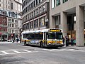 MBTA route 459 bus near Downtown Crossing, January 2016.jpg