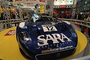 Maserati MC12 - The Scuderia Playteam car entered in the FIA GT Championship